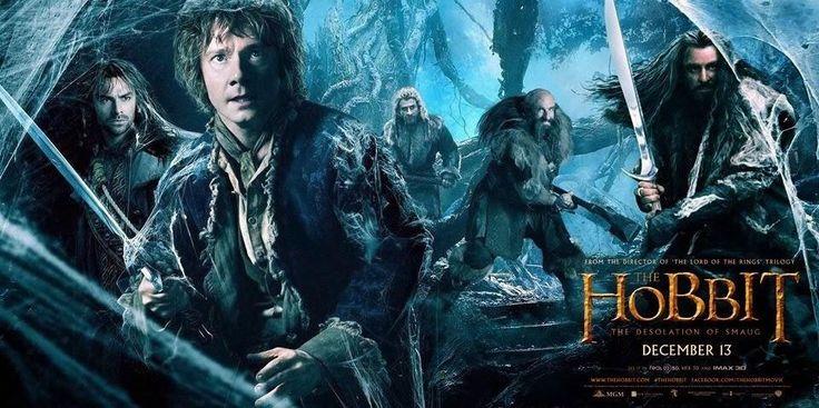 """""""O Hobbit: A Desolação de Smaug"""" teve divulgado um novo trailer e banners http://cinemabh.com/trailers/o-hobbit-a-desolacao-de-smaug-teve-divulgado-um-novo-trailer-e-banners"""