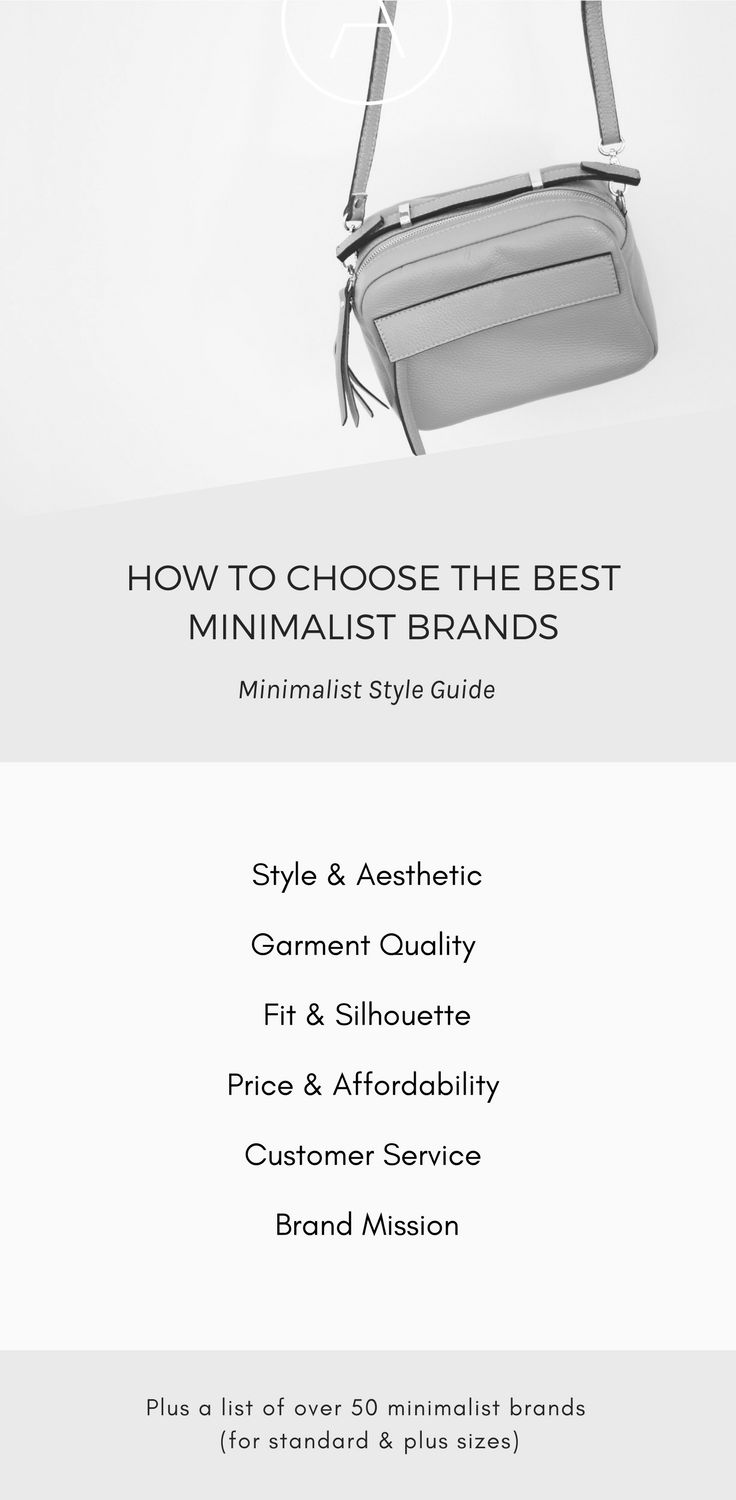 How to Choose the Best Minimalist Brands – Plus Get the Full Minimalist Brand List. This is a series of posts in my Minimalist Style and Capsule Wardrobe Series. Sign up for the e-Course at ajaedmond.com/capsule