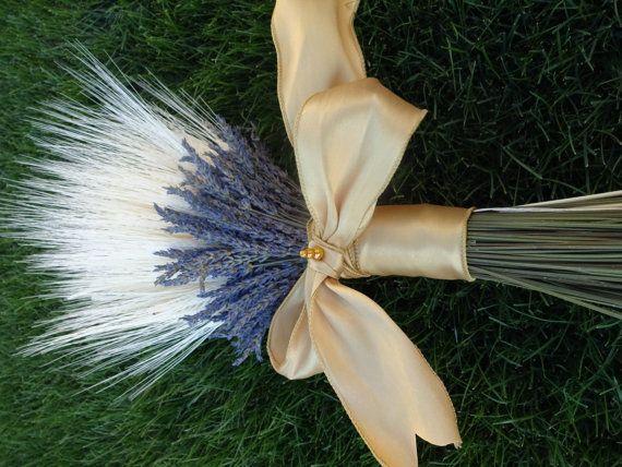 Trigo Bouquet ramo de lavanda seca ramo fragante ramo boda