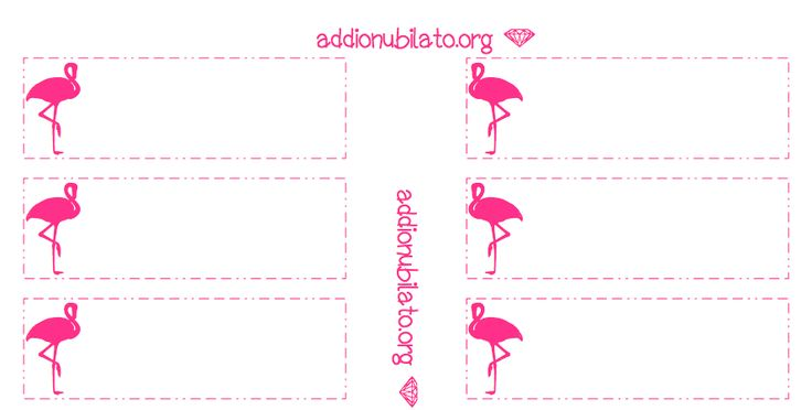 Printable Pink Flamingo Straw Decorations! #Flamingo #PinkFlamingo #Decorations #PinkFlamingoDecorations #StrawDecorations