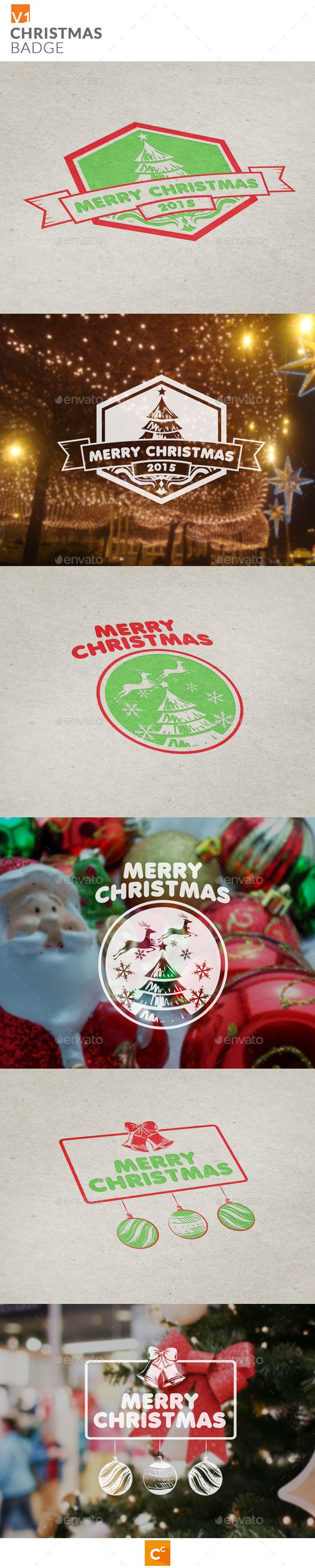 Christmas Badge | Buy and Download: http://graphicriver.net/item/christmas-badge/9774705?ref=ksioks