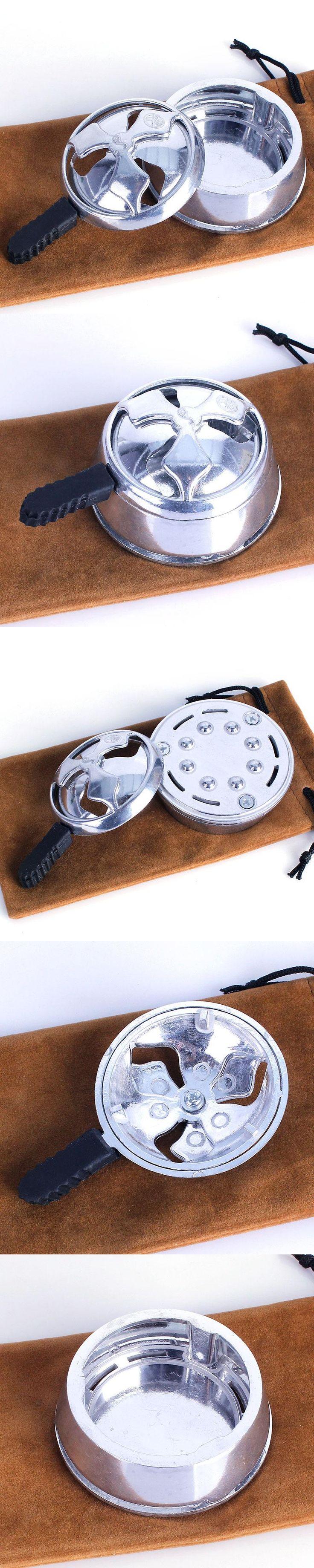 1pc Aluminum Shisha Hookah Bowl,charcoal Holder,heat Keeper for Hookah Smoke Arabian Hookah Shisha Narguile