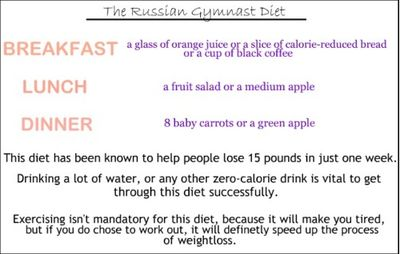 russian airforce diet weight loss