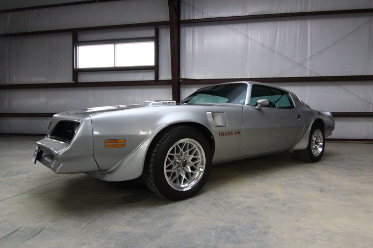 78 Silver Trans Am For Sale Pontiac F Body 1977 To 1978
