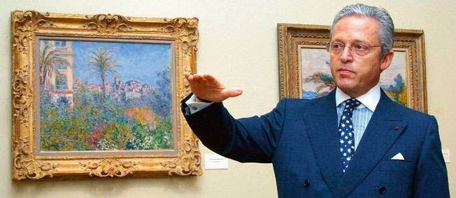 French Art dealer: Guy Wildenstein, héritier de la dynastie.
