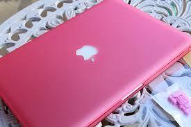 Resultado de imagem para notebook rosa apple