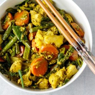 Green curry with chicken (AIP/paleo)