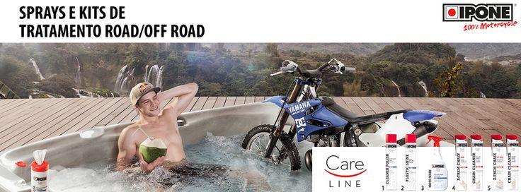 IPONE - CARE LINE    Descubra o que há de novo em todos os produtos da IPONE, com a Lusomotos. Conheça a nova gama, os novos produtos e a nova imagem! Fique ainda a par das equivalências dos novos produtos (em relação aos antigos produtos da marca).  Seja qual for o lubrificante que precisar, a Lusomotos tem!  Confira hoje mesmo.  #lusomotos #óleo #lubrificantes #sprays #road #offroad #ipone #careline #novagama #novalinhadeprodutos #moto #estilodevida