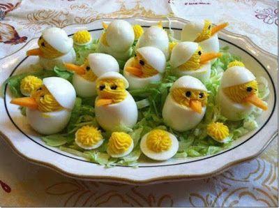 Receptek, és hasznos cikkek oldala: Töltött tojás - sonkával recept nagyon jól mutat az ünnepi asztalon :)