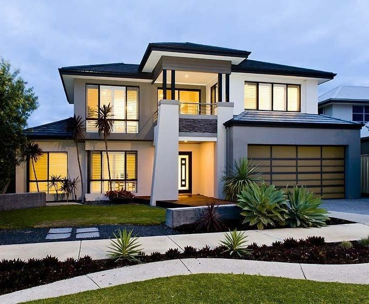 114 Best Images About Modern Home Ideas On Pinterest: contemporary house plans one story