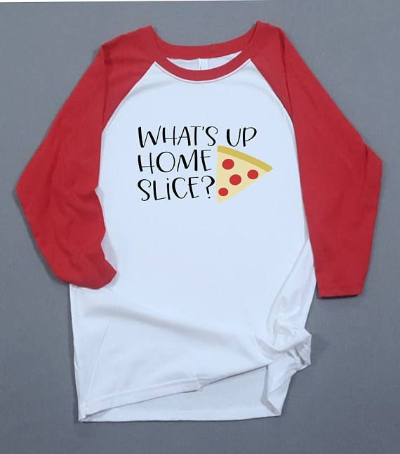 Cute Shirt -Back to School- Girl Youth Shirt – What's up homeslice – Funny Graphic Tee – Pizza Lover – Pizza Shirt