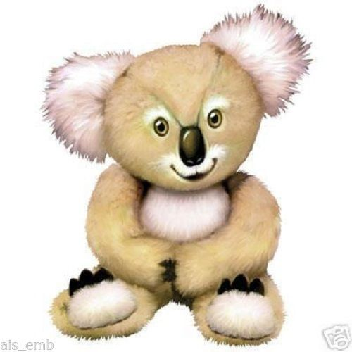 Koala Bear Cub  T-SHIRT  229a by AlwaysInStitchesCo on Etsy