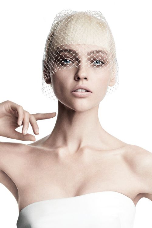 Sasha Pivovarova by Patrick Demarchelier | Vogue Japan, Aug. 2013