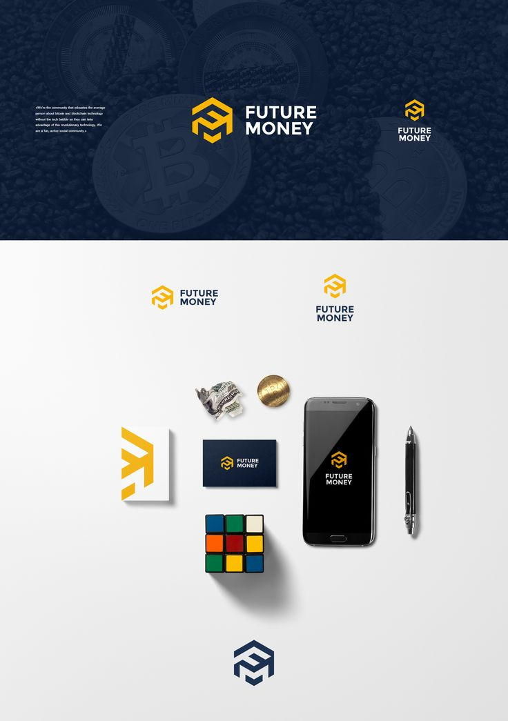 Blockchain community logo | 99designs