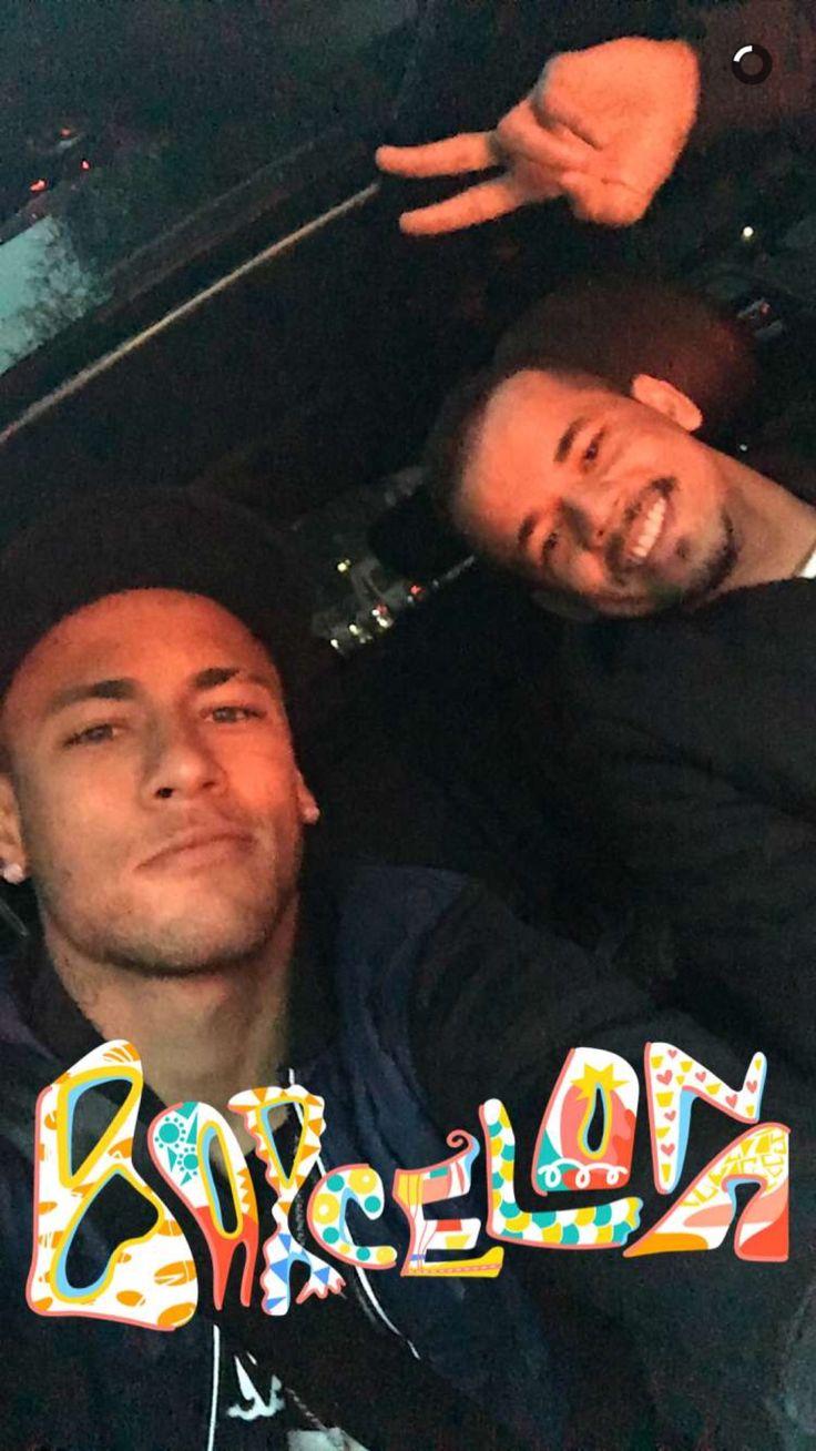 Neymar jr snapchat