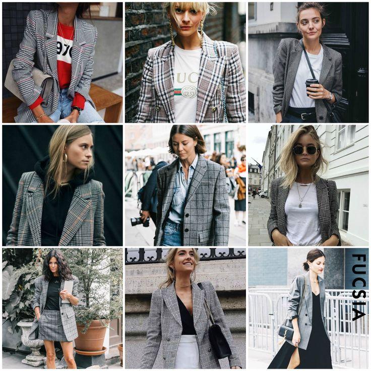 #Tendencia2017  La americana que todas queremos es gris y a rayas. No hayamos otra prenda que nos combine con todo la última temporada del año, además la puedes encontrar en todas tus tiendas favoritas.