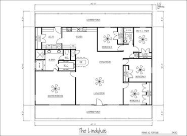 Sample floor plans of a house home design and style for 40x40 2 story house plans