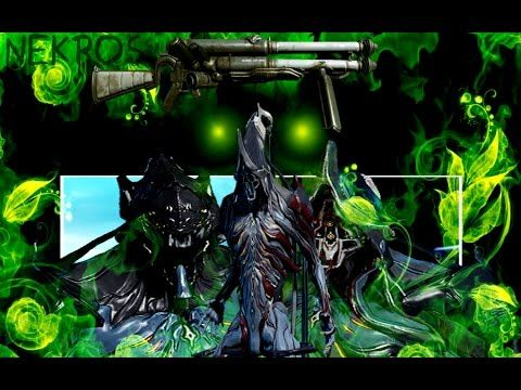Warframe  PS4 Gameplay Nekros  and Shield of Shadows 'the Hek