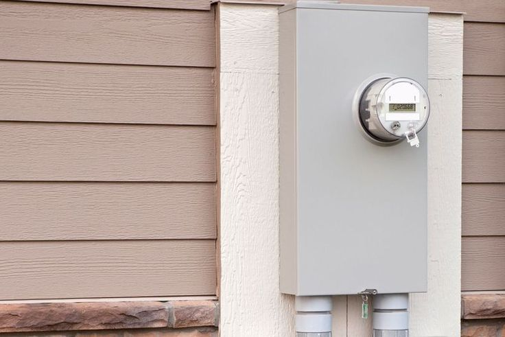Learn how to make the electrical connections to an electric meter. Electric meters have two hot connections and a center neutral/ground connection.