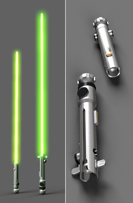 ahsoka's lightsabers - Google Search