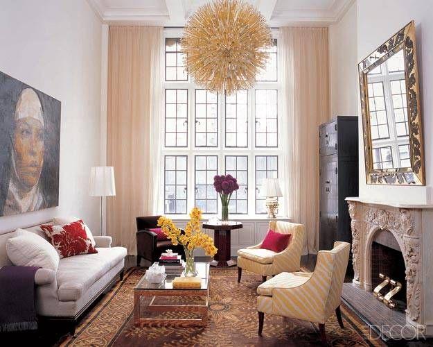 Love the windows: Interior Design, Decorating Idea, Spaces, Ideas, Livingrooms, Living Rooms, Elle Decor, Window, Apartment