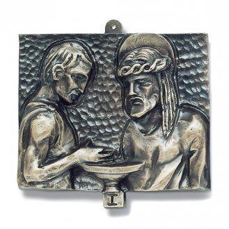 Cuadros estaciones Vía Crucis 15 piezas bronce martillado | venta online en HOLYART
