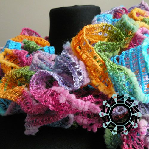 Funny, rainbow spring scarf . The scarf was made in one copy only. A great gift for an exceptional person Width 15-20 cm, length 110-120 cm. The scarf was hand-made. The scarf is made from a yarn, made of: acrylic and wool. Wash in gentle detergents, water temperature up to 30 degrees C. More at: …