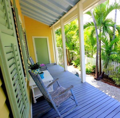 florida home interior colors. lime green on a florida cottage porch: http://www.completely- home interior colors