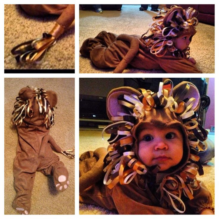 Halloween Toddler Baby Boy Costume Lion