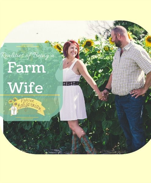 Realities of Being a Farm Wife