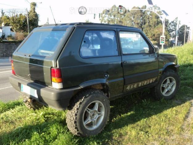 Fiat Panda 4x4 Sisley (1990)