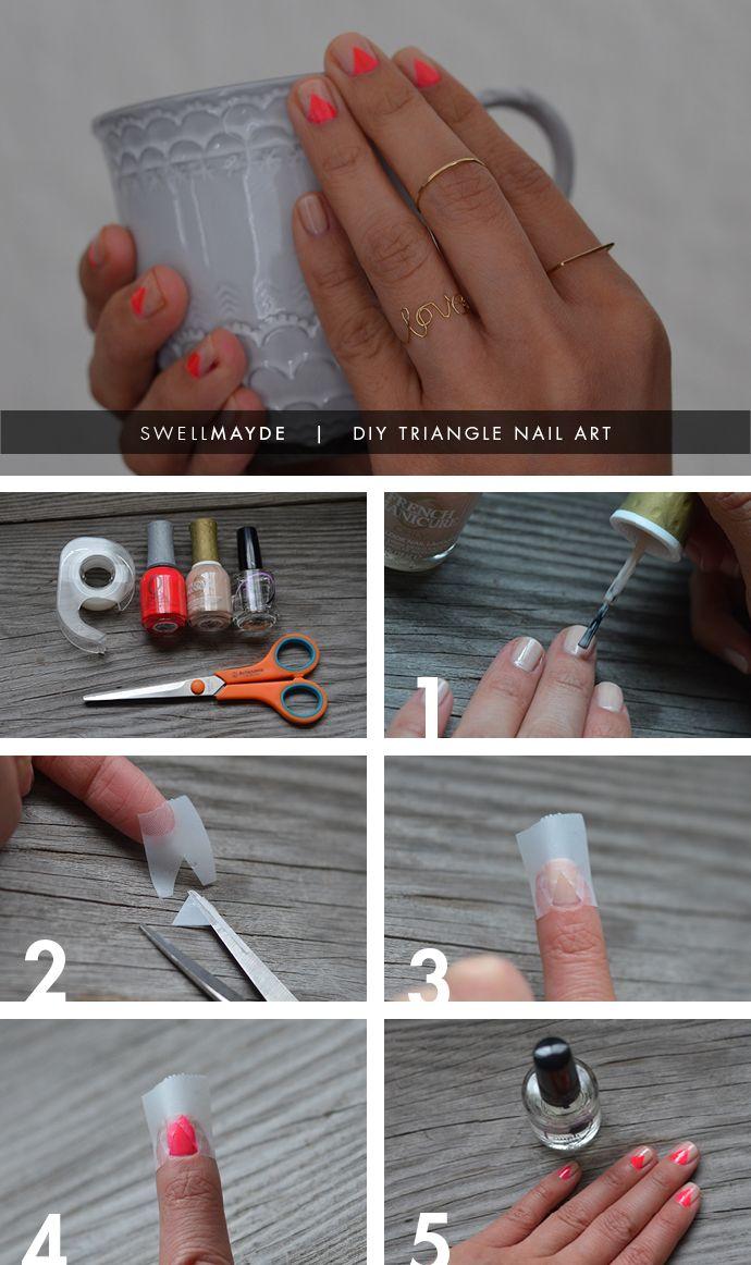 Die 8 besten Bilder zu Nail art DIY auf Pinterest | Einfarbig ...