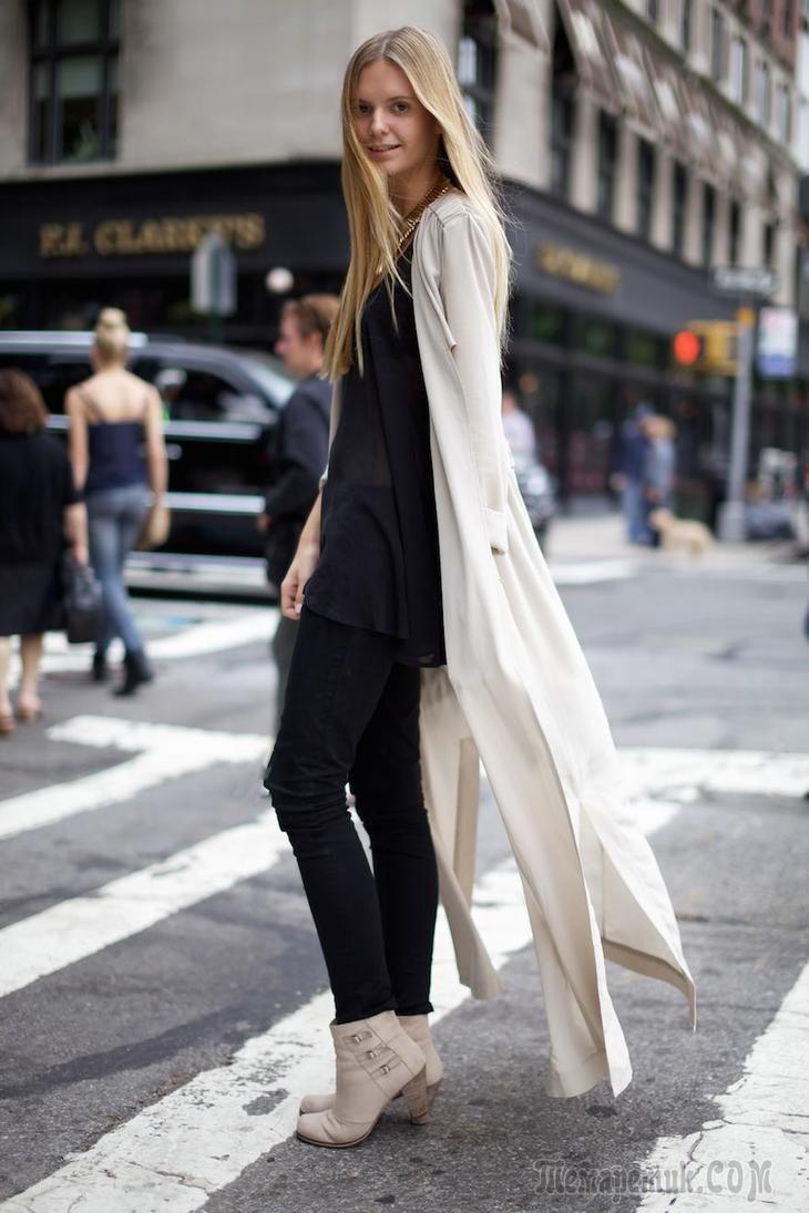 Модные длинные женские кардиганы — С чем носить и как сочетать?