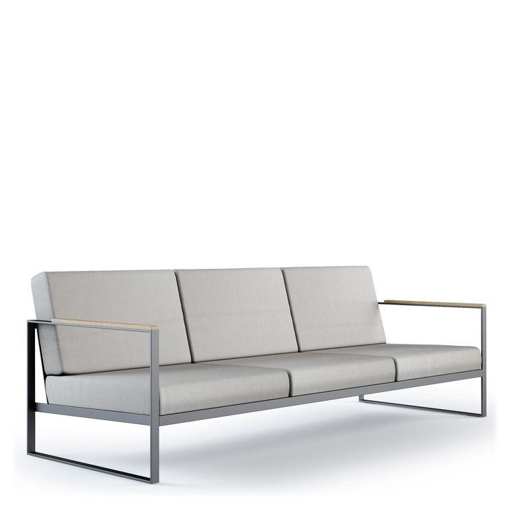 Garden Easy Sofa 3 | Röshults Svenska Hantverk AB