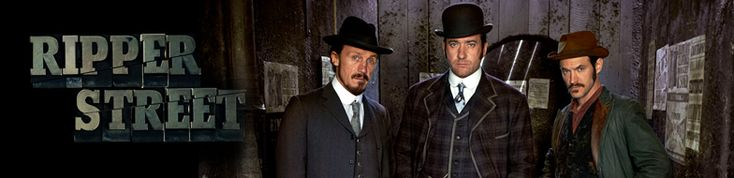 """Ripper Street"" is a riveting new crime drama. Saturdays at 9/8c. The eight-part series is set in and around Whitechapel in London's East End in 1889."