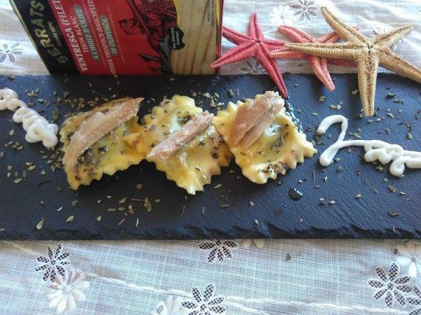 ¡Descubre cómo preparar estos deliciosos #raviolis rellenos de ventresca de Bonito del Norte!  #pasta #bonitodelnorte #ventresca