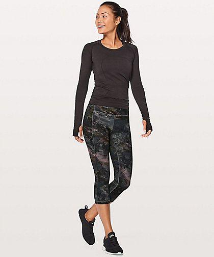 Speed Up Crop, Lululemon $109.00    http://www.shopyou.com.au/ #womensfashion #shopyoustyle