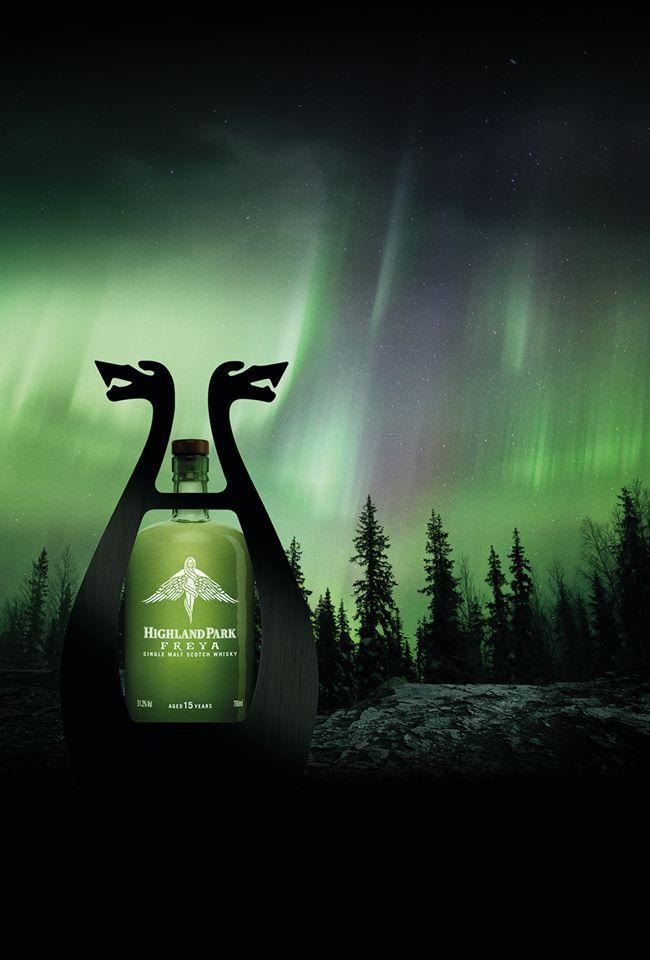 highland park whisky freya | ... mit schönem Nordlicht: Highland Park Freya – schon bald im Handel