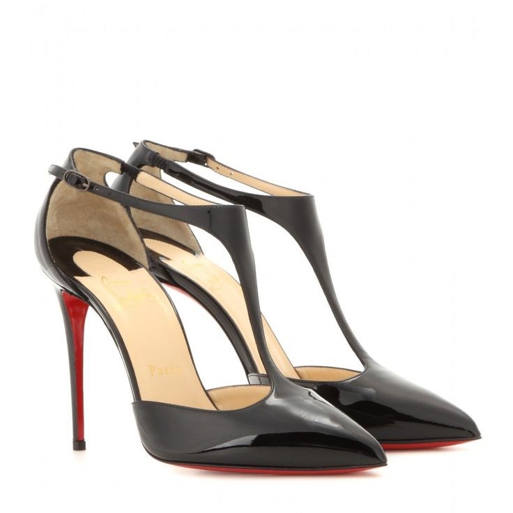 PUMPS J STRING 100 AUS LACKLEDER CHRISTIAN LOUBOUTIN