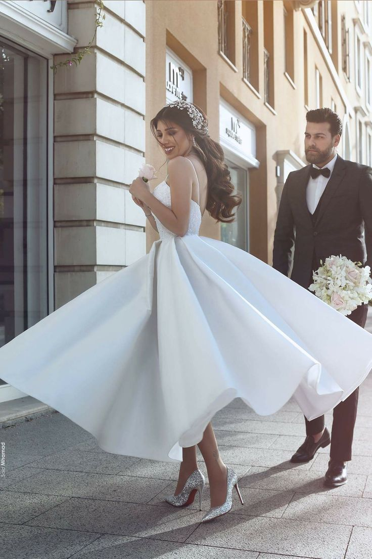 63 best wedding images on Pinterest   Bridal collection, Short ...