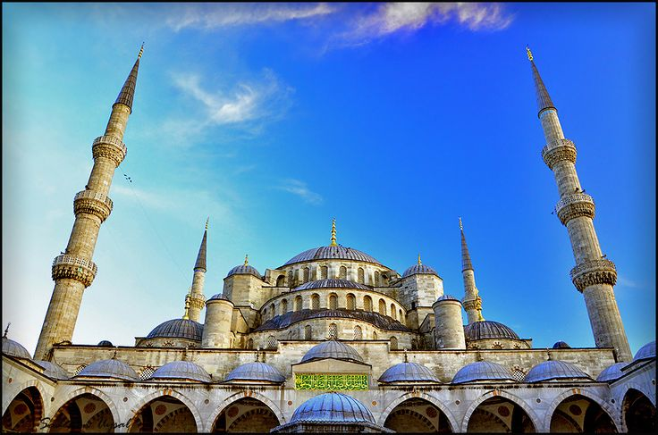 Sultan Ahmed Mosque(Blue Mosque) by Sadettin  Uysal, via 500px