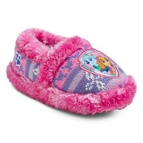 Toddler Girl's Paw Patrol Slippers - Pink