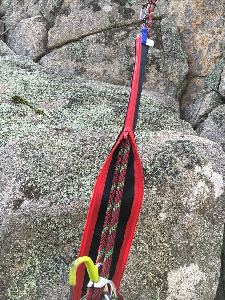 The Big Zipper rope protector from climbdesign.co. 1m long light simple to use and not at all tangly.