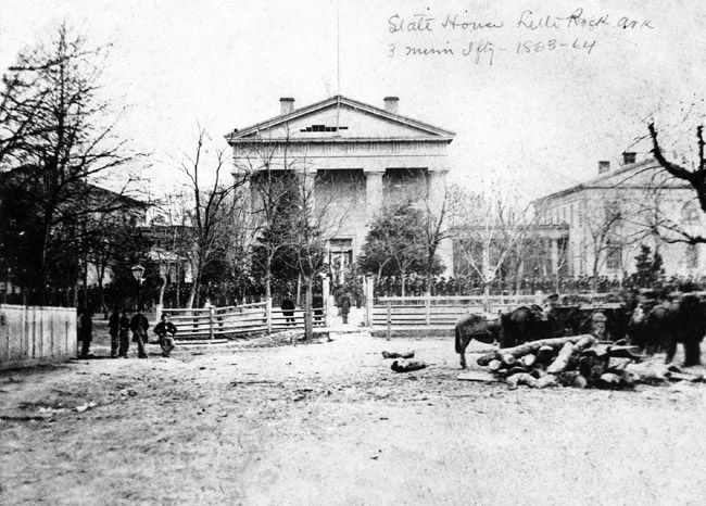 8 best arkansas images on pinterest little rock arkansas arkansas arkansass first state capitol in little rock now known as the old state house museum during the union occupation by the third minnesota infantry in at malvernweather Gallery