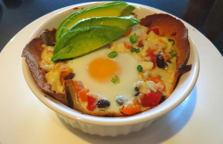 Mexican eggs in a basket RECIPE! #healthy #lowcarb #highfibre #vegetarian