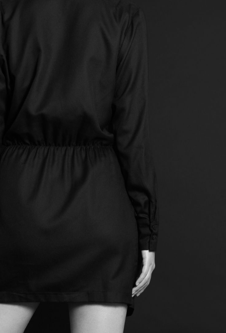 Black dress http://honeygold.eu/product/black-wrap-around-dress/
