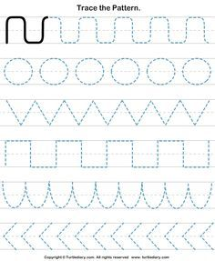 Download and print Turtle Diary's Pattern Tracing worksheet. Our large collection of math worksheets are a great study tool for all ages.
