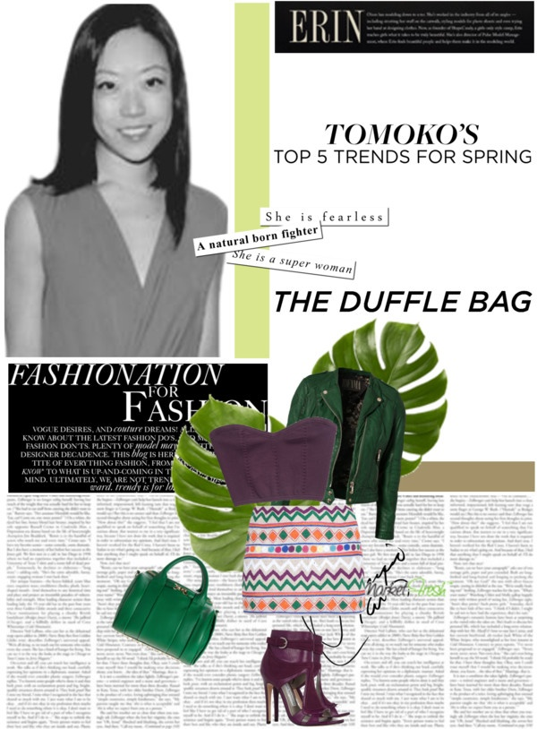 """the duffle bag"" by mk-vogue ❤ liked on Polyvore,REPLICA MICHAEL KORS HANDBAGS WHOLESALE"