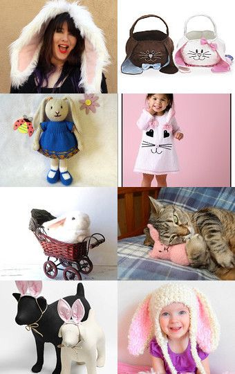 A Bunny For Every Bunny! by Monica D on Etsy--Pinned with TreasuryPin.com