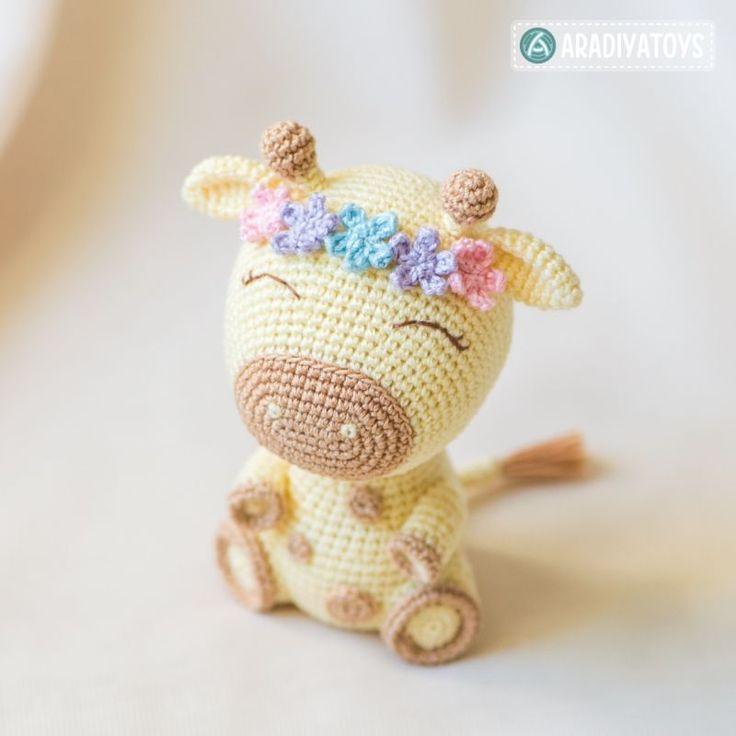 Giraffe Ellie Amigurumi Pattern